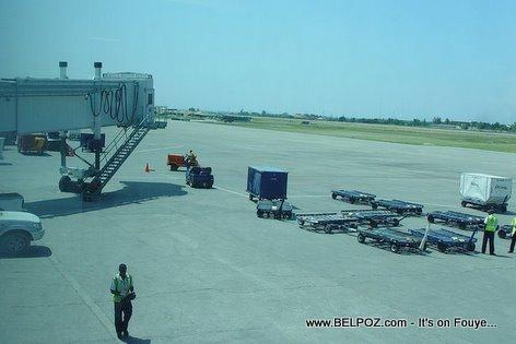 Haiti Airport Baggage Handlers