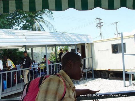 Haiti Toussaint Louverture International Airport May 2010