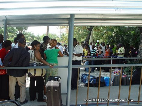 Haiti International Airport Temporary Airport Entrance