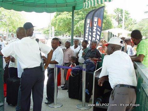 Haiti International Airport Temporary Airport Entrance