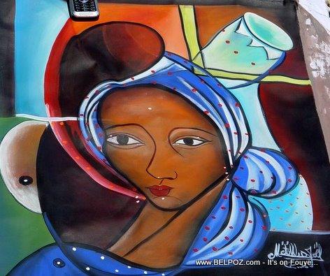 Haiti Art, Haitian Painting By Artist Metellus Joel
