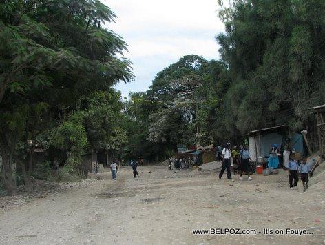 Haitian Students Mirebalais Haiti
