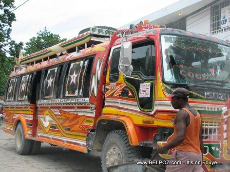Bus Transport Mirebalais Haiti