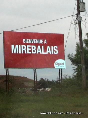 Mirebalais Haiti Welcome Sign