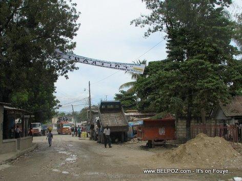 Camion Bascule Mirebalais Haiti