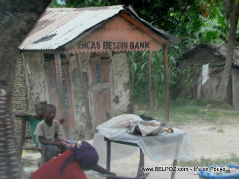 En Cas Besoin Bank Mirebalais Haiti