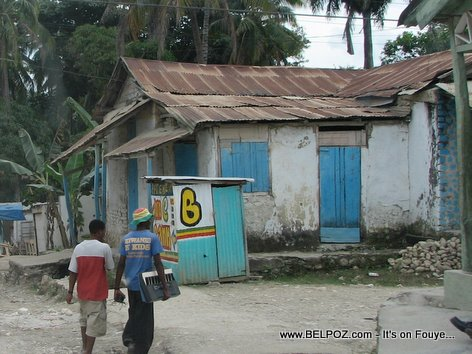 Old House In Mirebalais Haiti