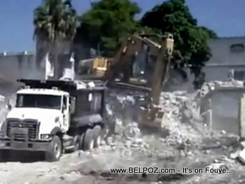 Haiti Recovery, Debris Removal In Port-au-Prince
