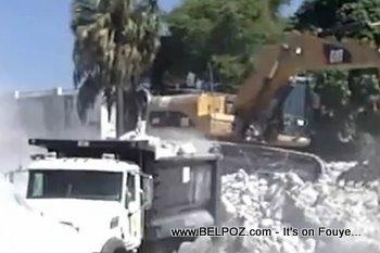 Haiti Recovery, Debris Removal In Port-au-Prince