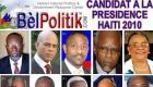 Candidat La Presidence Haiti 2010