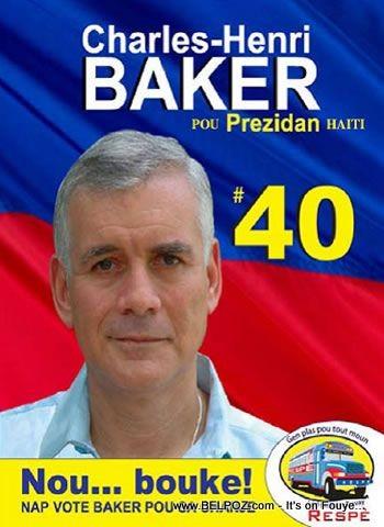 Vote Charlito Baker
