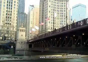 Chicago Michigan Ave Bridge - Now Dusable Bridge