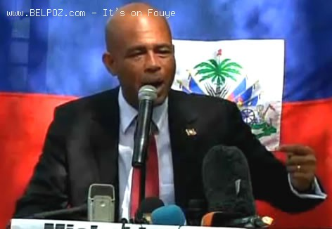 Michel Martelly After Haiti Election Day 2010