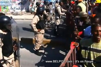 Haiti Anti Elections Protesters Clash With Police