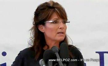 Sarah Palin In Haiti Samaritans Purse News Conference