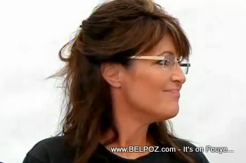 Sarah Palin In Haiti Samaritans Purse News Conference