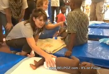 Sarah Palin In Haiti