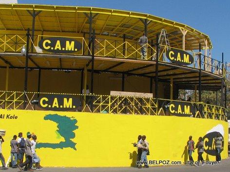 Haiti Kanaval Stand CAM Transfert