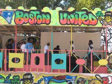 Haiti Kanaval Stand Boston United