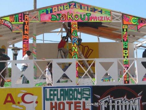 Haiti Kanaval Stand