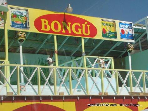 Haiti Kanaval Stand Lait Bongu