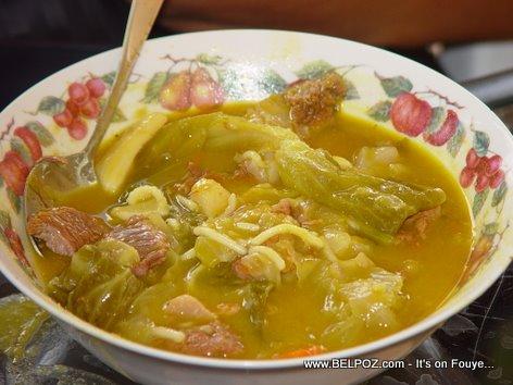 A Bowl Of Haitian Soup Joumou