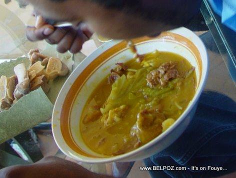 Soup Joumou Haitian Soup