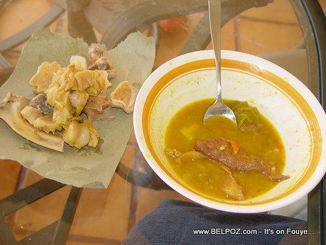 Soup Joumou Only Bones Left