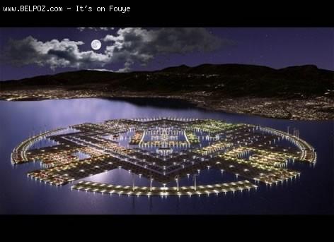 Floating City In Haiti