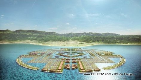 Floating City In Haiti, Two Mile Modules