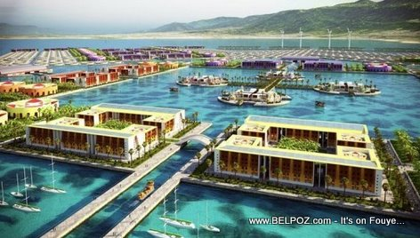 Harvest City, A Floating City In Haiti