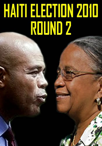 Michel Martelly Vs Mirlande Manigat