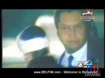 President Duvalier And Michelle Bennett Leaving Haiti