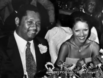 Jean Claude Duvalier And Wife Michelle Bennett
