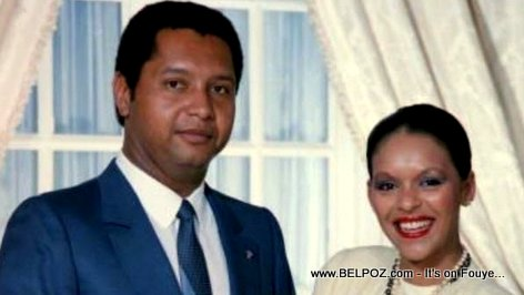 Jean-Claude Duvalier and Michelle Bennett