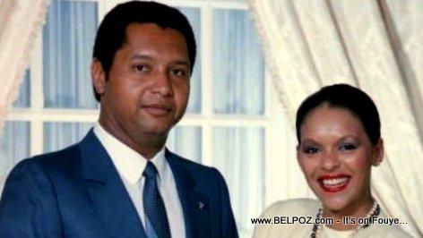 Jean-Claude Duvalier and Michelle Bennett