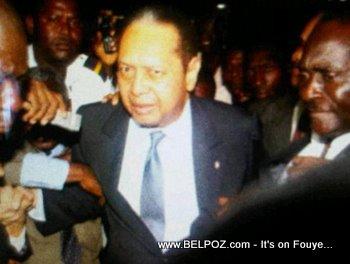 First Photos - Jean Claude Duvalier Back In Haiti