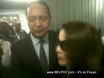 Jean Claude Duvalier And Wife Back In Haiti, First Photos