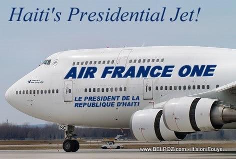 AIR FRANCE ONE - Haiti Presidential Jet