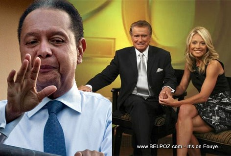 Jean Claude Duvalier Live with Regis and Kelly