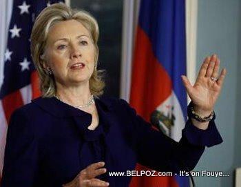 Secretary Of State Hillary Clinton Talks About Haiti