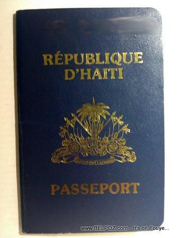 Haiti Passport Haitian Passeport