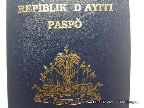 Haitian Passport Repiblik D Haiti Paspo