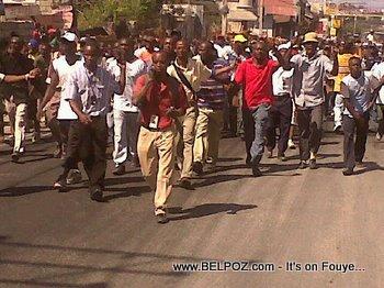 Anti Preval Riots In Haiti