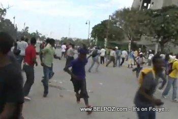Anti Preval Protest Haiti 7 Fevrier 2011