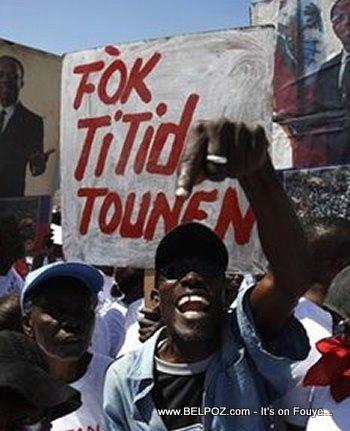 Fok Titid Tounen Aristide Must Return