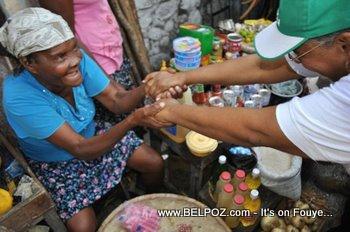 Mirlande Manigat Campaign - Solino, Cite Soleil