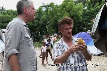 Anthony Bourdain And Sean Penn In Haiti The Travel Channel