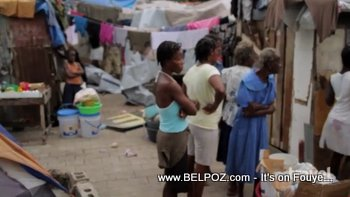 Life In A Tent City Haiti The Travel Channel