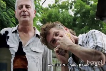 Anthony Bourdain And Sean Penn In Haiti The Travel Channel